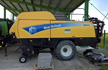 Lis NEW HOLLAND BB 9070 na hranaté balíky